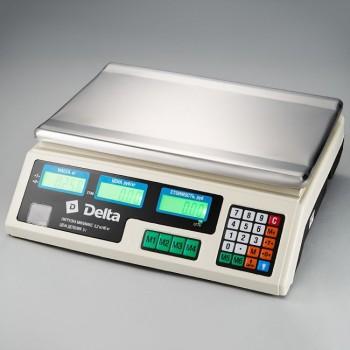 Delta ТВН-40 Весы торговые электронные 40кг/5г