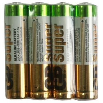 Батарейка GP Super (AAА) LR3-BL4/1.5V (4 шт.) Shrink