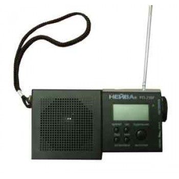 Радиоприёмник Нейва РП-218F УКВ/FM часы-будильник, таймер, электронная шкала