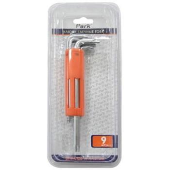 Набор гаечных ключей Torx KLSH10 Park (356915) (9шт)