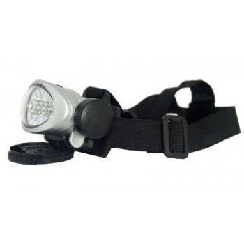 Фонарь налобный (LED-10) светодиодный пластмассовый