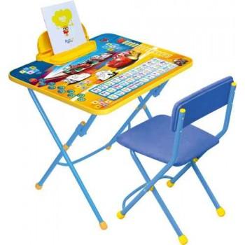 Комплект Ника Disney 3 Д3Т (для 3-7 лет) тема Тачки (складные стол+стул)