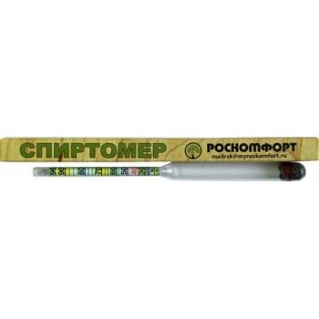 Спиртомер бытовой Роскомфорт СБ диапазон 0-96 об.спирта