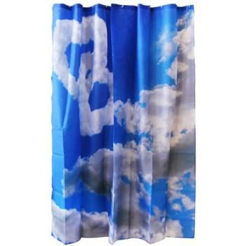 Занавеска для ванной Curtain-Clouds Облака полиэстер (180*180см), 12 крючков в комплекте 000871