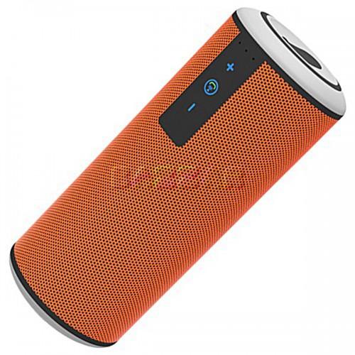 Колонка Bluetooth Trendwoo Music Tube, оранжевая