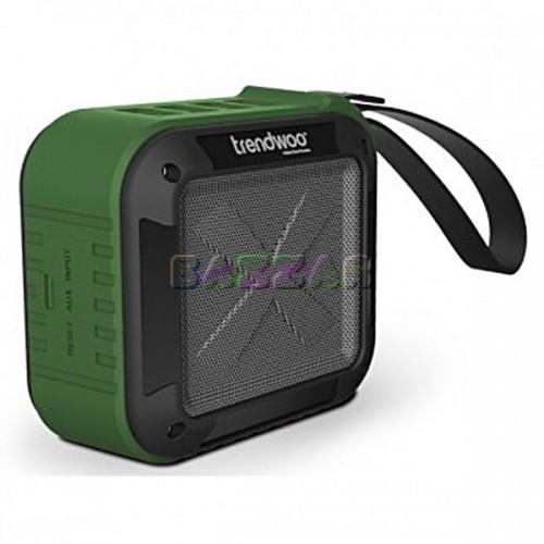 Колонка Bluetooth Trendwoo Rockman S, зеленая