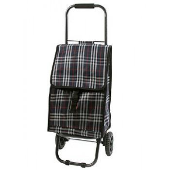 Тележка-сумка D203ECO Tartan 30кг,31,5х29х84см