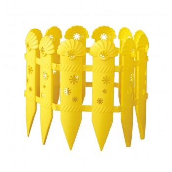 Декоративный заборчик Ромашки М503, пластик, 2,4 м, в ассортименте