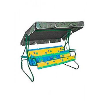 Качели Люкс-2 3мест/раскл. сиденье1700/d32мм