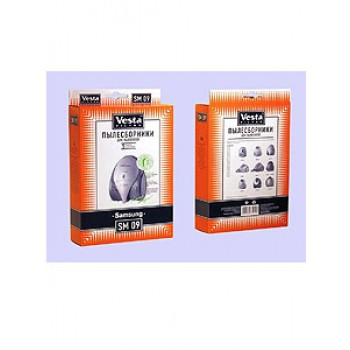 Комплект пылесборников VESTA SM09 SAMSUNG 5шт бумаж