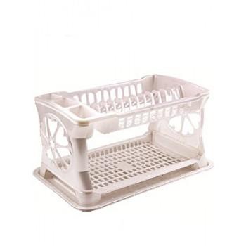 Сушка для посуды ЛИДИЯ РП-121 беж/кор.