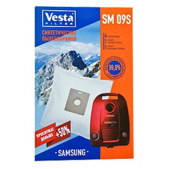 Комплект пылесборников VESTA SM09S SAMSUNG 4шт синтет
