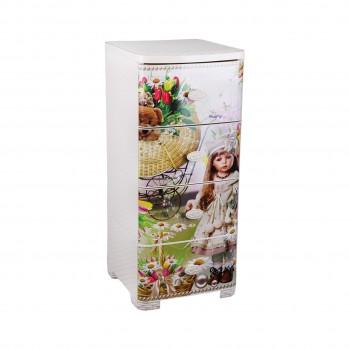Комод пластиковый детский Кукла М2450