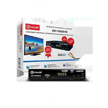 Цифровая ТВ приставка D-COLOR DC1002HD, DVB-T/T2