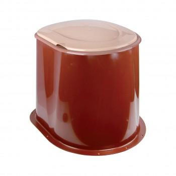 Туалет дачный для выгребной ямы М1295, коричневый
