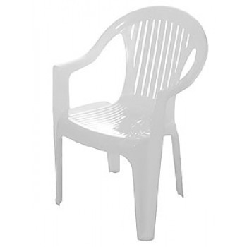 Кресло Классик 590х568х825мм, белое