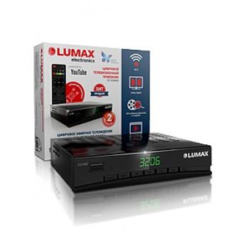 Цифровая ТВ приставка LUMAX DV3206HD, DVB-T2, Wi-Fi