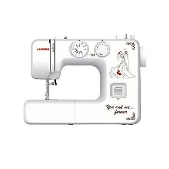 Швейная машинка JANOME-777 12стр.,пет.-п/авт,верт.челнок,оверлок