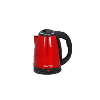 Чайник Centek CT-1068 Red 2,0л, 2,0кВт диск