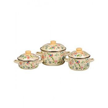 Набор посуды 07 Луговые цветы к.1,5/2,0/4,0л 3КА071М