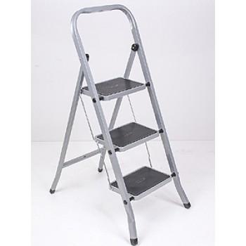 Стремянка CLASS PLUS 3ст./широкие с покр./сталь
