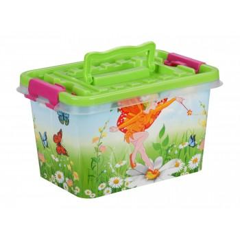 Контейнер для детских игрушек Феи М6577, 4 л, 26х17х14см