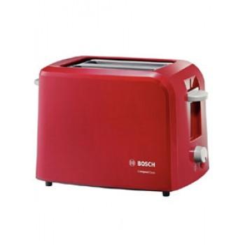 Тостер BOSCH TAT 3А014 900Вт,2тоста,красный