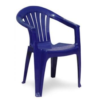 Кресло Классик-2 560х560х750мм, синее