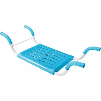 Сиденье в ванну Ника СВ4, не раздвижное, металл, пластик (цвета в ассортименте)