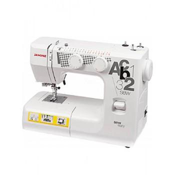 Швейная машинка JANOMEsew easy 85Вт,петля-авт-т,18опер,верт.челн
