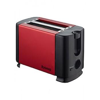 Тостер ЯРОМИР ЯР-602 красный/черн. 700Вт,таймер