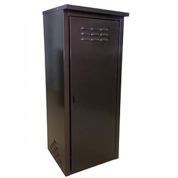 Шкаф уличный для газового баллона 50л Петромаш, коричневый