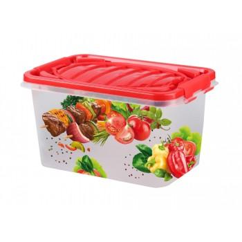 Контейнер для продуктов Пикник М6417, 7 л, 31х21х17см
