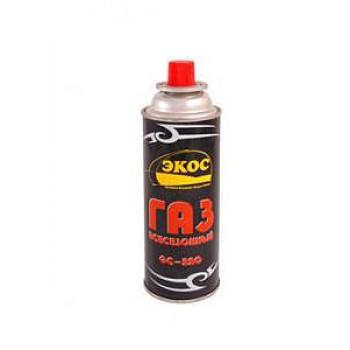 Баллон 0,22л газовый Экос для портативных приборов