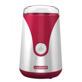 Кофемолка Ладомир-6-1 красный 150Вт,защ.от перег