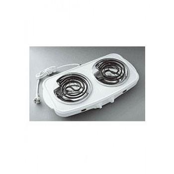 Плитка электрическая настольная ЭПТ-2МД-09 белая 2конф.2,0кВт,эмаль.чаша