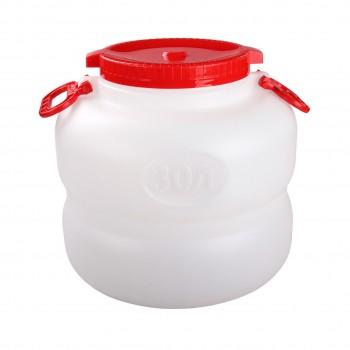 Канистра-бочка Байкал М6226, 30 л, пищевой пластик