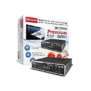 Цифровая ТВ приставка D-COLOR DC1501HD,MKV,DVB-T/T2