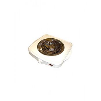 Плитка электрическая настольная ЭПТ-1МВ-03 белая 1конф.1,0кВт нерж.чаша,ручки