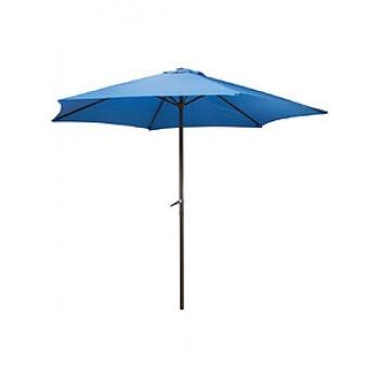 Зонт садовый PARK GU-01син.d270см,штанга 240см