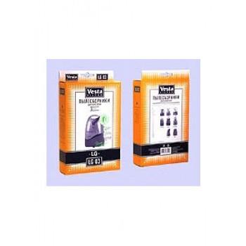 Комплект пылесборников VESTA LG03 LG 5шт бумажные