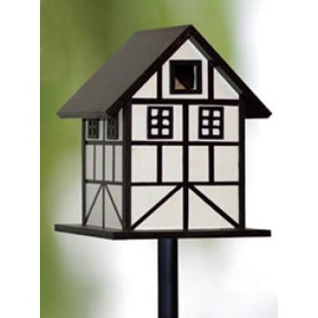Кормушка 13087 фахтверховый дом/столб 190*190*235