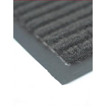 Коврик влаговпитывающий ребристый VORTEX 60*90см серый