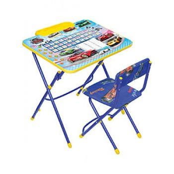 Комплект мебели Ника КУ3/15 Большие гонки стол+мягк.стул