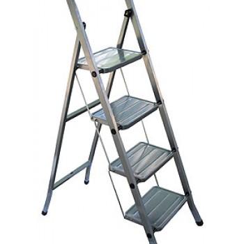 Стремянка CLASS 4 широкие ступени./сталь
