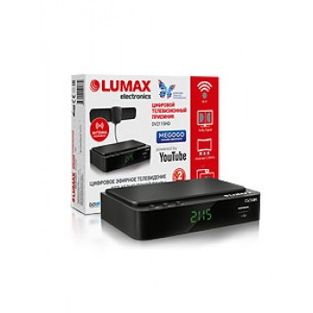 Цифровая ТВ приставка LUMAX DV2115HD, DVB-T2
