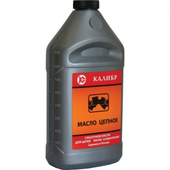 Масло цепное Калибр 1,0л, для цепей бен/электр пил