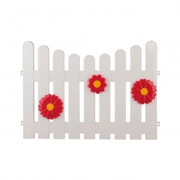 Декоративный заборчик Летний сад М2203, пластик, 2,35 м