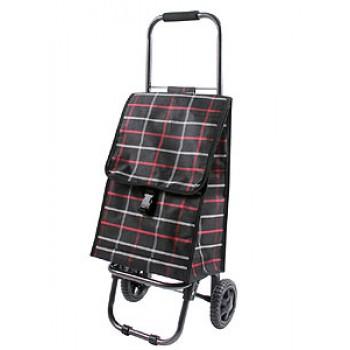 Тележка-сумка D203ECO Brown 30кг,31,5х29х84см