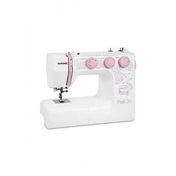 Швейная машинка JANOME Pink 25 25опер.,60Вт,петля автомат
